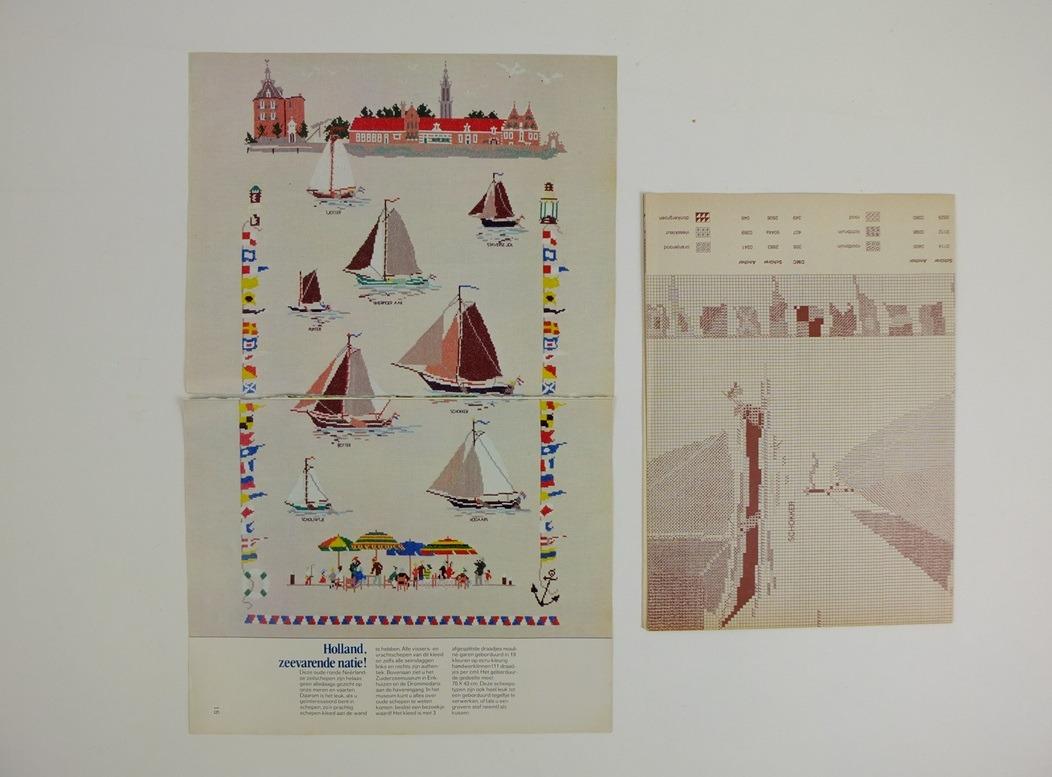 Patronen Mies Bloch oude schepen