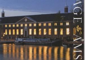 Hermitage aan de Amstel 's avonds