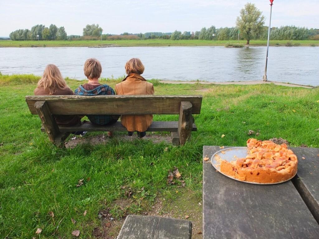 Appeltaart langs de IJssel