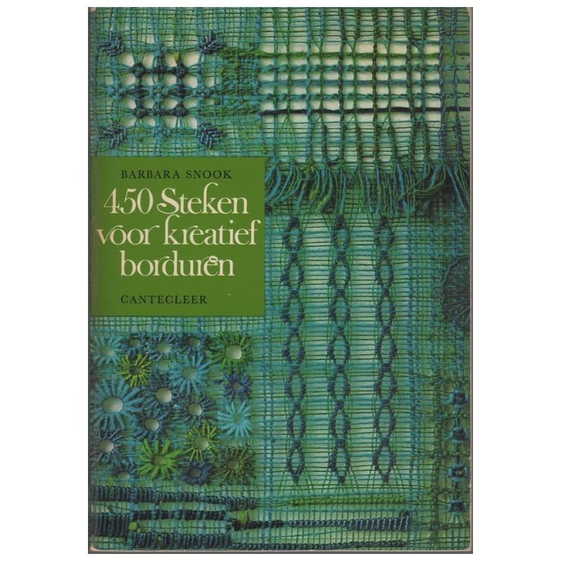 Boekje 450 Steken voor kreatief borduren