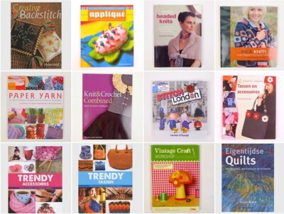 Twaalf nieuwe handwerkboeken