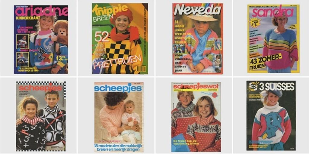 Oude tijdschriften breien