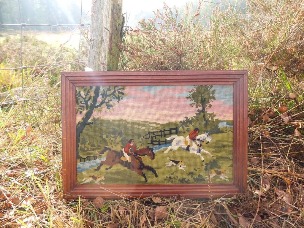 Schilderij jachttafereel