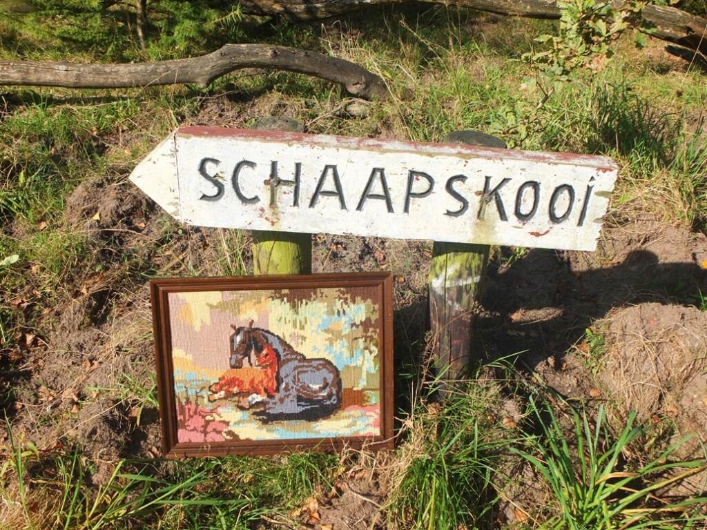 Tapisserie schilderij Paard met veulen