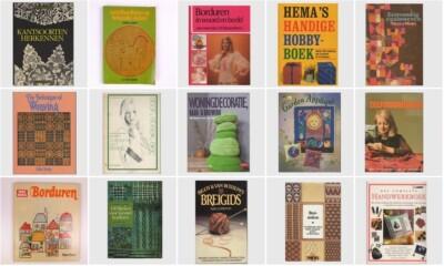 Vijftien vintage handwerkboeken