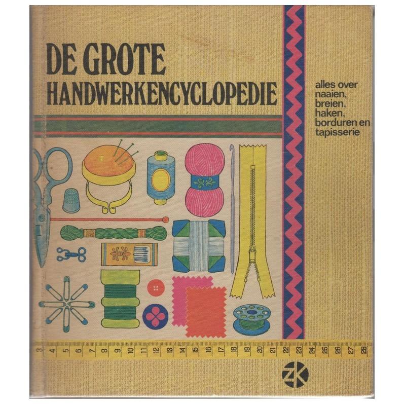Boek de grote handwerk encyclopedie