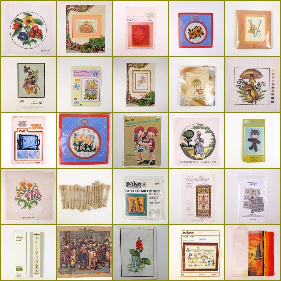 Collage handwerkpaketten op Tweedehandswerk
