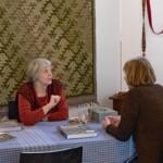 Margriet in gesprek met Henriette Beukers