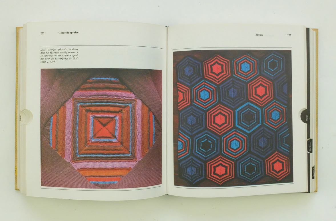 Pagina uit de grote handwerkencyclopedie