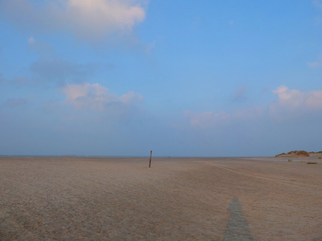 Strand op Schiermonnikoog in november