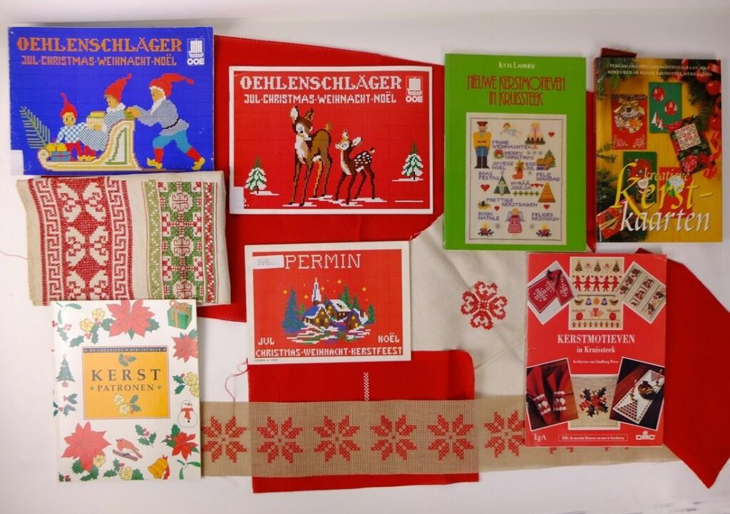 Boeken borduren voor kerst