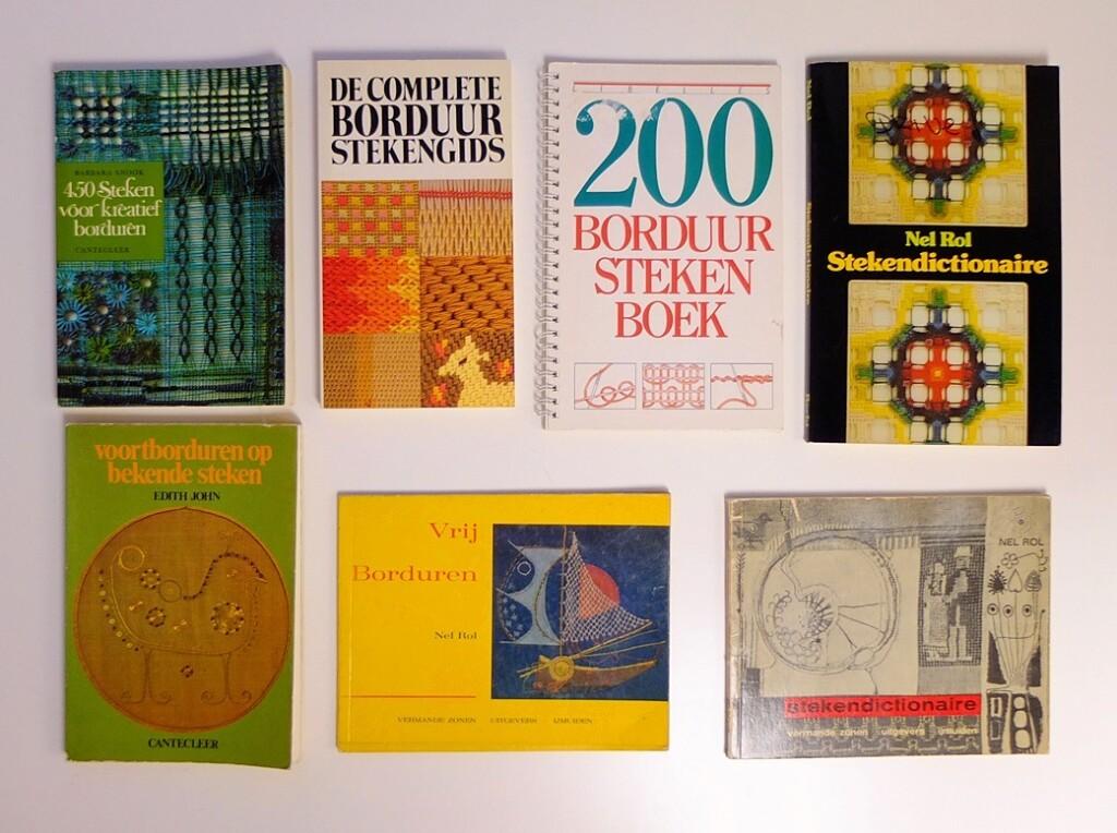 Boeken over Borduursteken