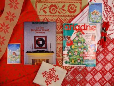 Tijdschrift en boek voor kerst