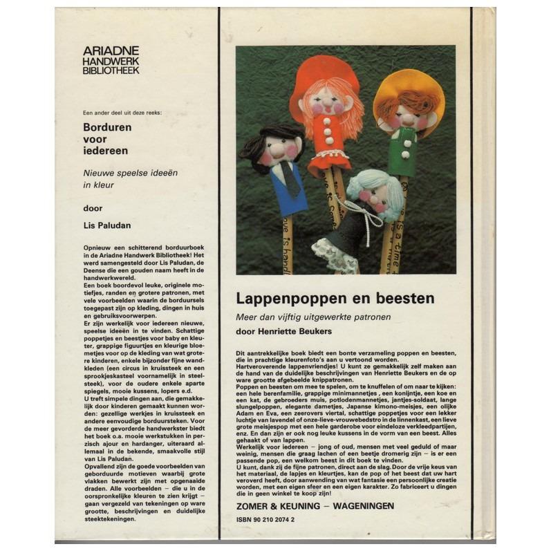 Boek Lappenpoppen en beesten