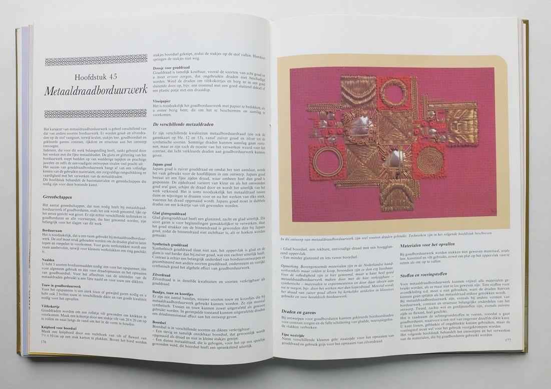 Pagina uit boek Naaldkunst