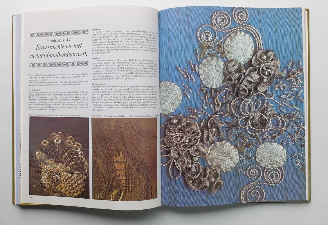 Pagina uit boek Naaldkunsts