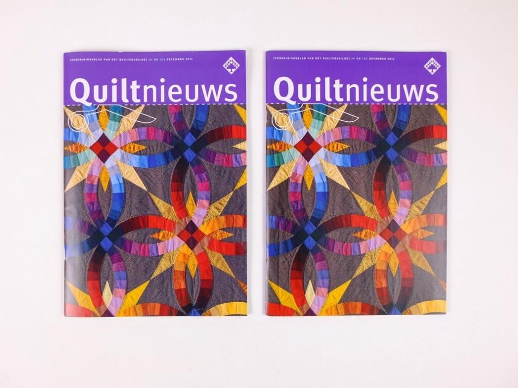 Tijdschrift Quiltnieuws nr. 122