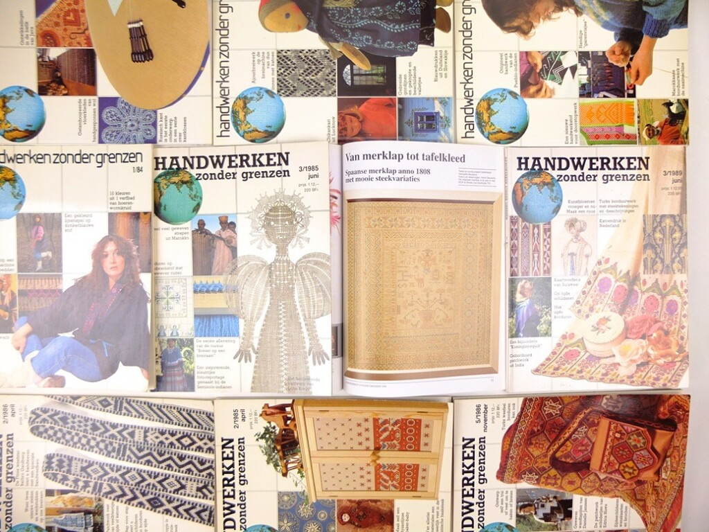 Tijdschriften handwerken zonder grenzen
