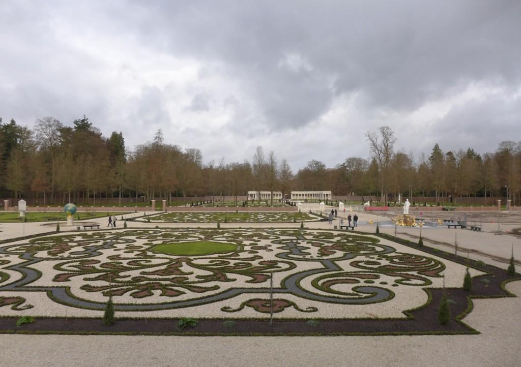 Viernieuwde tuinen paleis het Loo