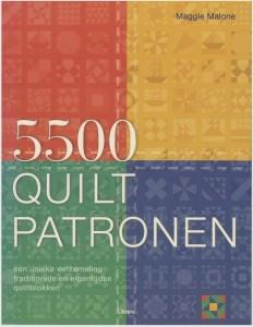 5500 Quiltpatronen