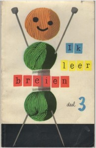 Boekje Ik leer breien