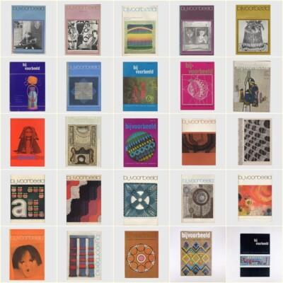 Collage 25 tijdschriften Bijvoorbeeld