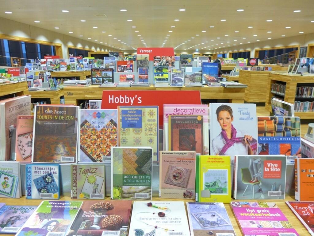 Hobby boeken in bibliotheek Amersfoort