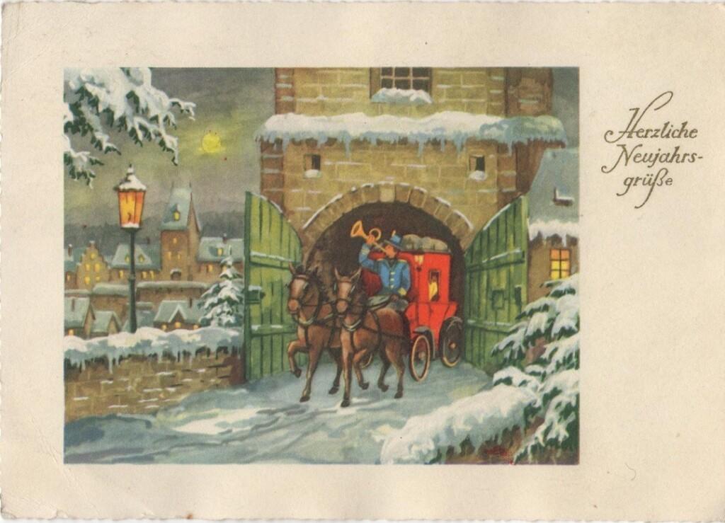 Oude Nieuwjaarskaart