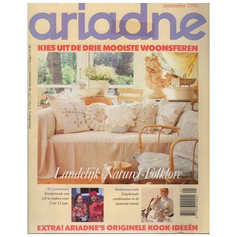 Ariadne september 1990