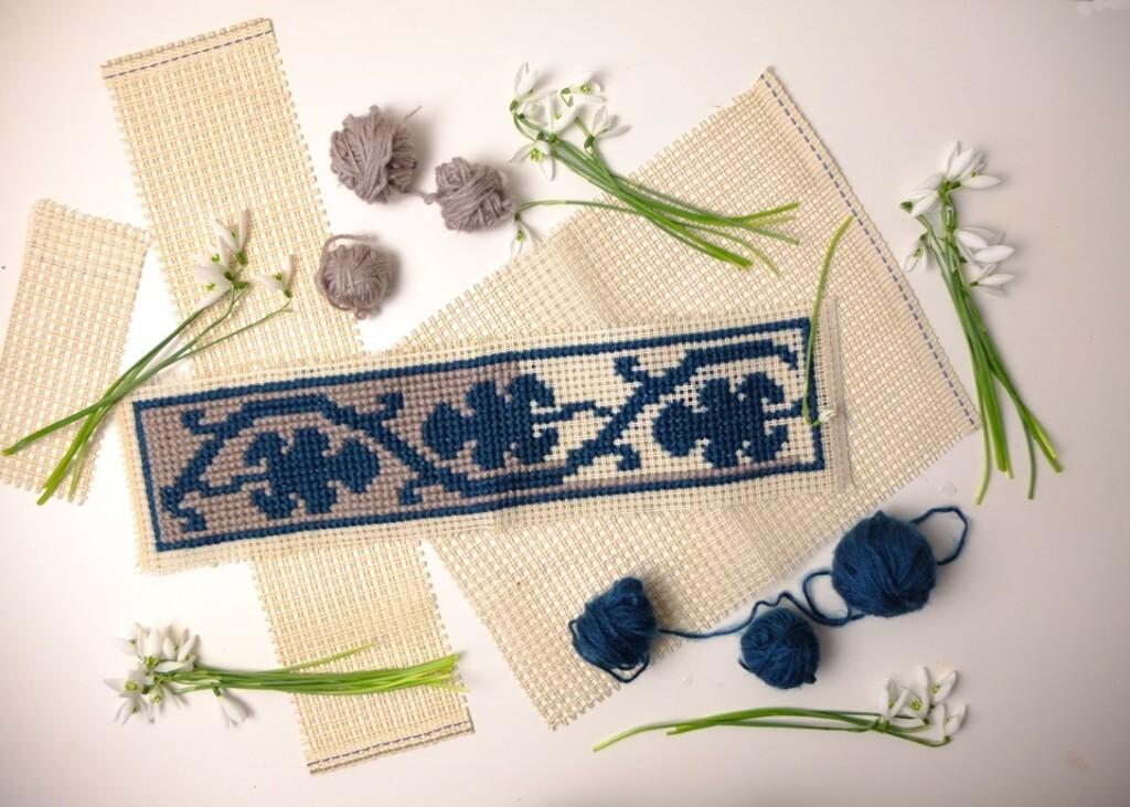 Borduren op stramien