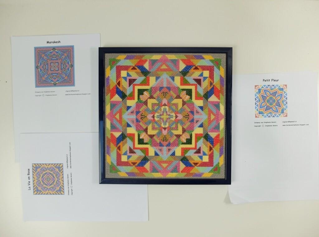 Borduurwerk Geometrische vormen en patronen