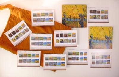 Postzegels van Van Gogh