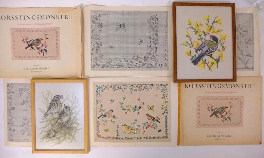 Twee oude boeken Eva Rosenstand