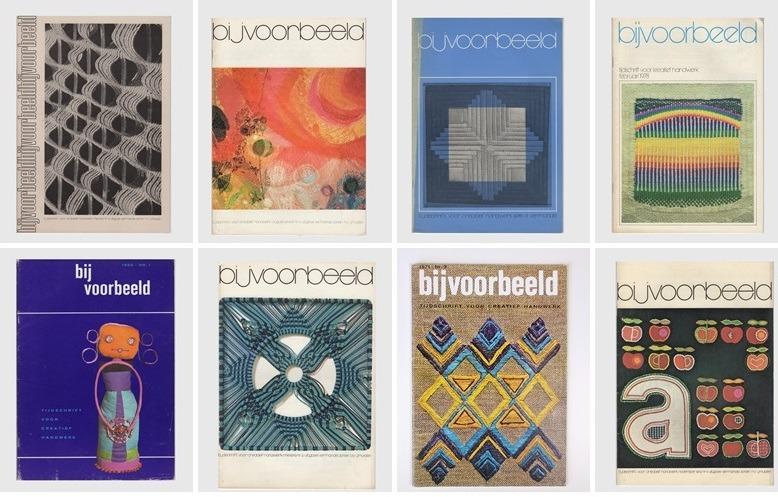 Acht tijdschriften Bjivoorbeeld