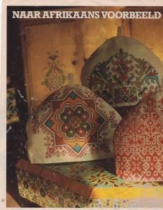 Afbeelding theemutsen uit oude Ariadne