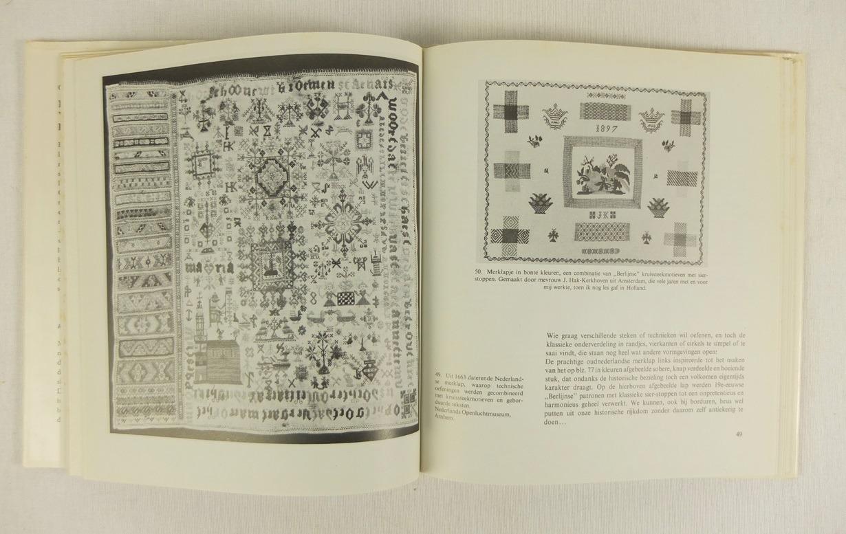 Bladzijde uit Boek Door het oog uit duizend naalden (1)