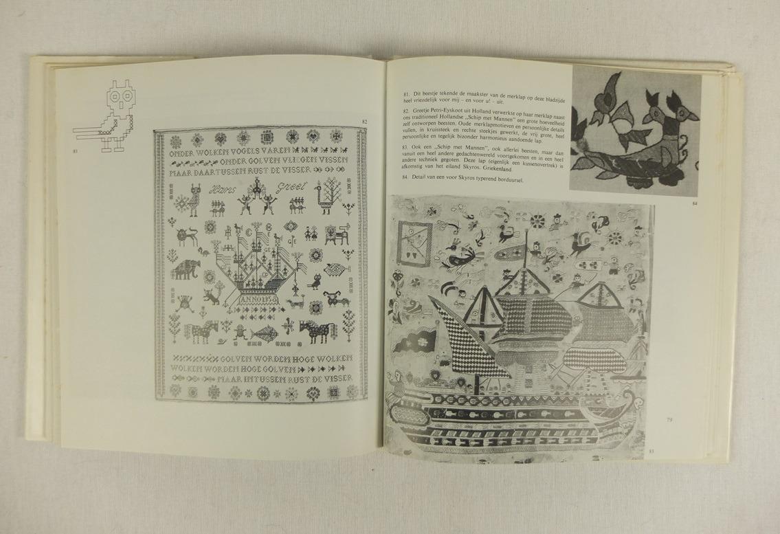Bladzijde uit Boek Door het oog uit duizend naalden (2)