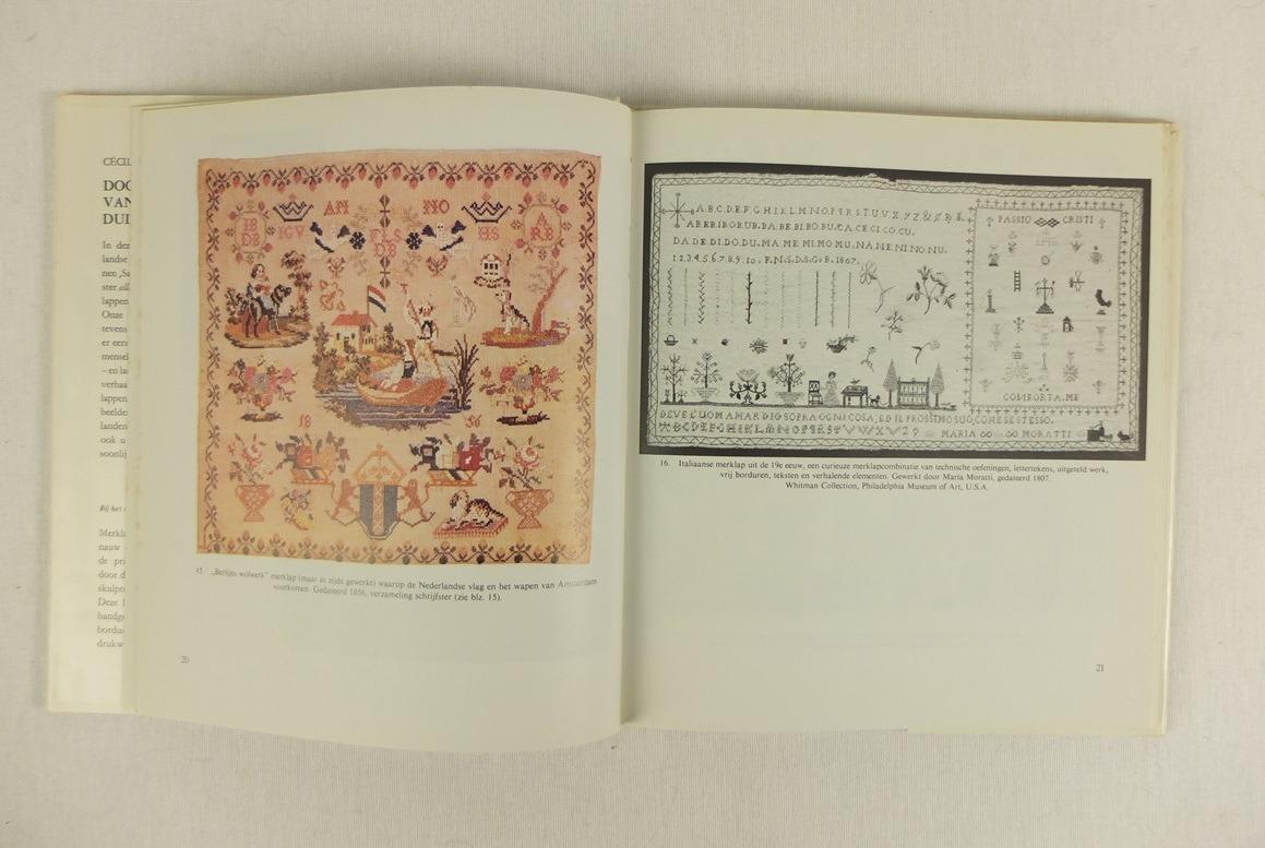 Bladzijde uit Boek Door het oog uit duizend naalden (3)