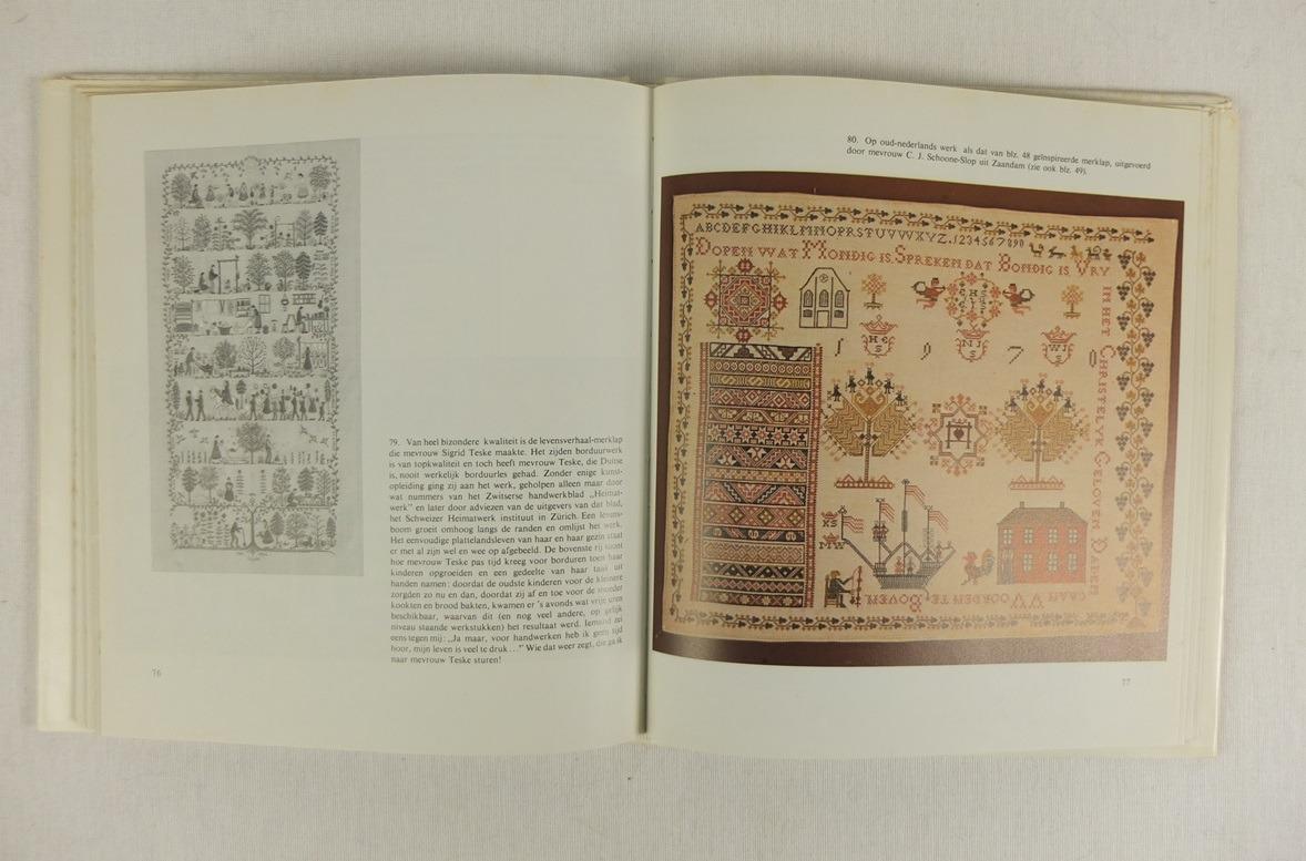 Bladzijde uit Boek Door het oog uit duizend naalden (4)