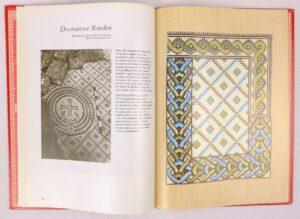 Bladzijde uit het Mozaiek Handwerkboek naar motieven uit het Heilige Land