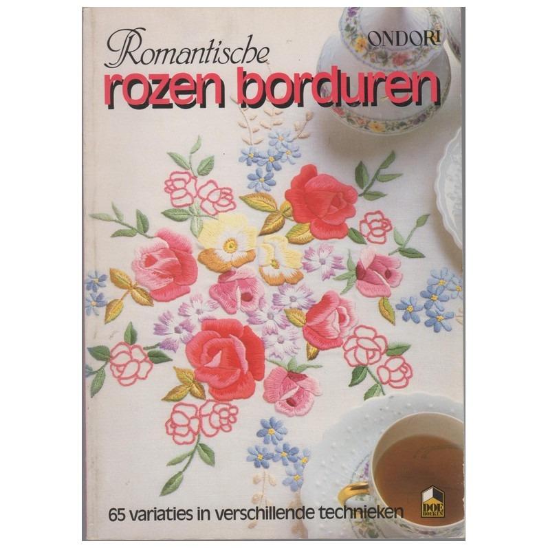Boek Romantische Rozen Borduren