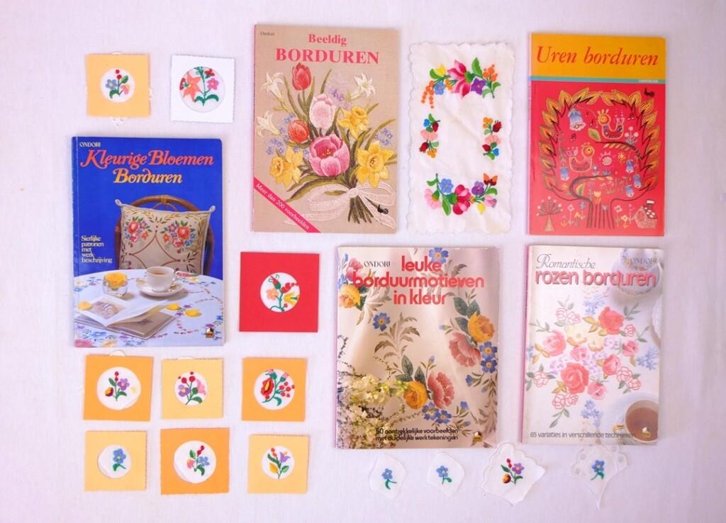 Borduurboeken Ondori