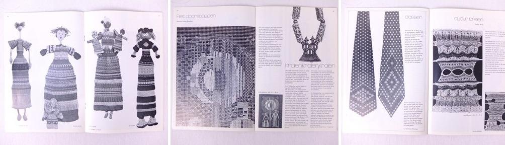 Drie pagina's uit tijdschrift Bijvoorbeeld