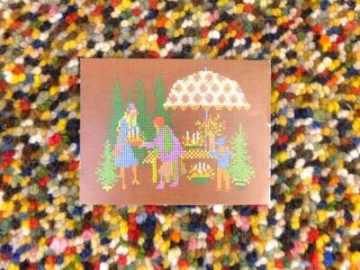 Kaart voor het kind afbeelding kerstboom
