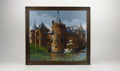 Schilderij kasteel tapisserieKasteel tapisserie