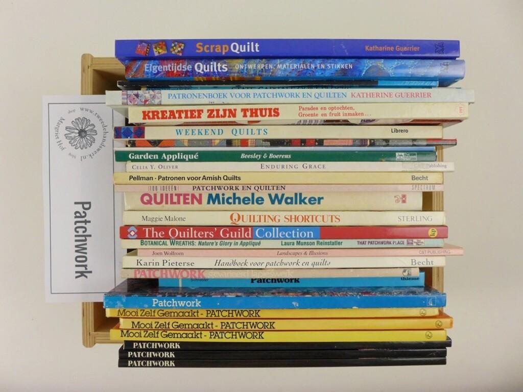 Doos Patchworkboeken