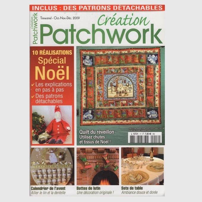 Tijdschrift Patchwork Najaar 2009