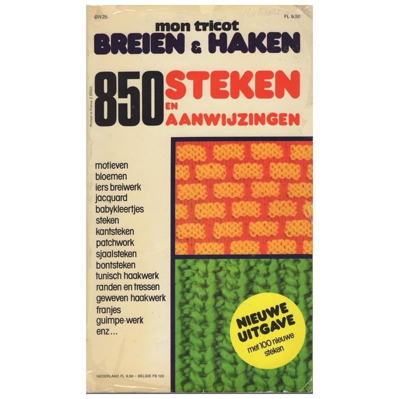 Boek Mon Tricot Breien En Haken 850 Steken