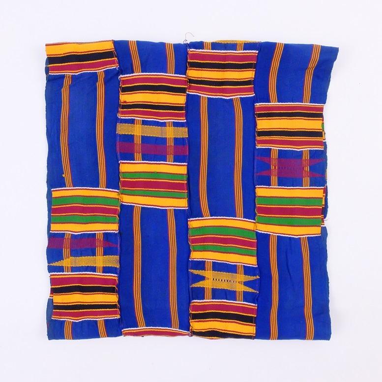 Afrikaanse doek van geweven banden
