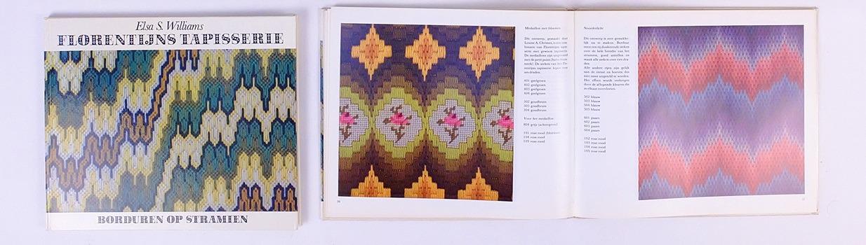 Pagina's uit boek Florentijns Tapisserie